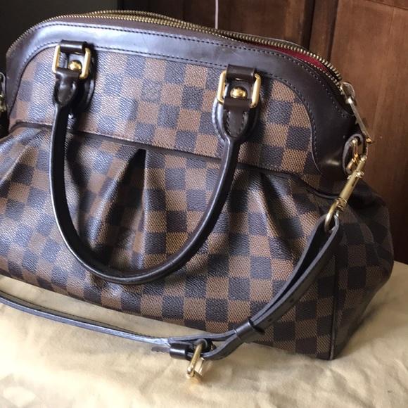 63db3b0e17e1 Louis Vuitton Handbags - Louis Vuitton TREVI PM Damier Ebene Canvas PM